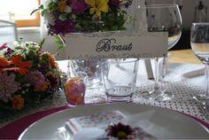 Handmade place card bride.....www.meriland.at