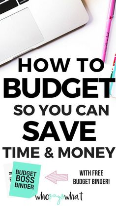 Budgeting tips! Learn how to budget for beginners. If you want to budget but aren't sure how, this is for you! Automate your personal finances so you never have to budget again! Budget binder printable for FREE! Free budgeting printables!