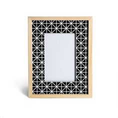 Bilderrahmen Diamant Mischholz schwarz ca B:10 x L:15 cm