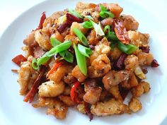 My Kitchen Snippets: Spicy Szechuan Peppercorn Chicken
