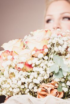 Kathleen, the bride's bouquet. She was married at Swynford Manor. - © Lightside Photography