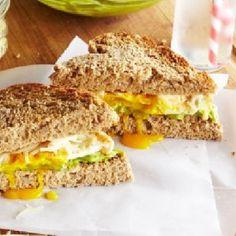 nice Fried Egg Sammie & Avocado Spread