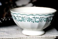 antique cafe au lait bowl  #ceramics #pottery #porcelain #陶磁器 #うつわ #焼きもの
