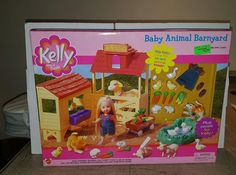 ***RARE*** KELLY Sister of Barbie Baby Animal Barnyard (ONLY ONE LISTED ON EBAY) #Kelly