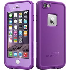 Purple iPhone 6/6s Life Waterproof Shockproof Case New Purple iPhone 6 / 6s Life Waterproof Shockproof Dirtproof Dustproof Snowproof Protective Case. LifeProof Other