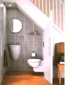 Home-Dzine - Ideas for using space under the stairs - what a great use of space!