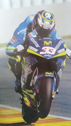 Marco Melandri Honda Movistar