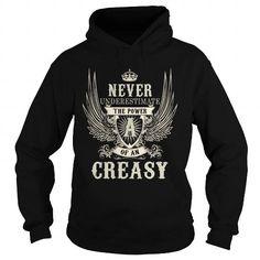 I Love CREASY CREASYYEAR CREASYBIRTHDAY CREASYHOODIE CREASYNAME CREASYHOODIES  TSHIRT FOR YOU T-Shirts