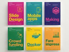Ed posters serie designed by Francesca Jochman. Connect with them on Dribbble; Poster Design Layout, Graphic Design Posters, Brochure Design, Graphic Design Inspiration, Branding Design, Print Layout, Poster Designs, Book Design, Cover Design