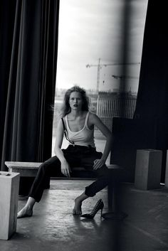 Vogue Germany - Anna by Peter Lindbergh