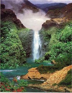 Dominica ~ The Nature Island, filled with waterfalls, lakes, hiking trails.