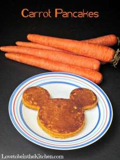 Carrot Pancakes- A k