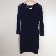 Nwt H&M Little Black Lace Dress