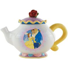 Westland Giftware Ceramic 6.75-Inch Disney Beauty and The Beast Teapot, 30-Ounce Westland Giftware