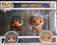 Funko Pop Harry Potter Baby Nifflers Vinyl Figure 2 Pack Crimes Of Grindelwald Harry Potter Funko Pop Harry Potter Pop Harry Potter Funko