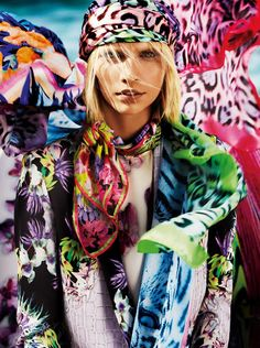Just Cavalli Spring/Summer 2013  Pattern Occuring — Anne Marie Jackson