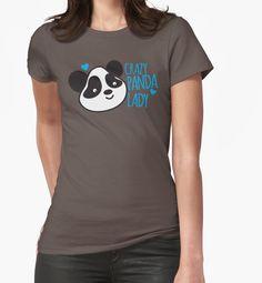 Crazy Panda Lady by jazzydevil