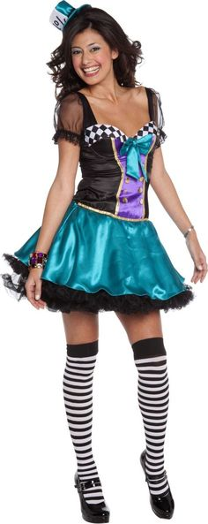 Adult Sexy Mad Hatter Costume - Party City