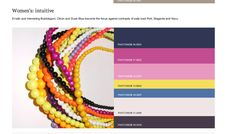 WGSN A/W 15/16 Colour Usage - INTUITIVE