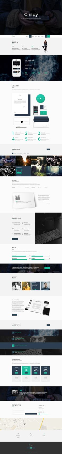 Crispy | One & Multi Page WP