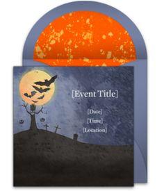 Online Invitations From Halloween Invitations Halloween Parties