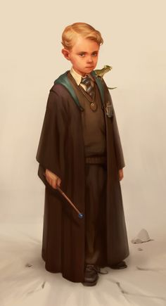 Young Wizard by Kseniya Sibileva Arte Do Harry Potter, Harry Potter Artwork, Harry Potter Magic, Harry Potter Drawings, Yer A Wizard Harry, Harry Potter Love, Harry Potter Universal, Harry Potter Fandom, Harry Potter World