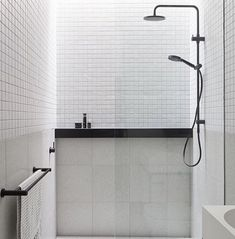 Luxury Bathroom Master Baths Wet Rooms is unquestionably important for your home. Whether you choose the Bathroom Ideas Apartment Design or Luxury Bathroom Ideas, you will make the best Interior Design Ideas Bathroom for your own life. Bathroom Interior, Modern Bathroom, Small Bathroom, Master Bathroom, Bathroom Ideas, Master Baths, Bathroom Black, Bathroom Taps, Minimal Bathroom