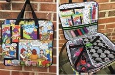 Sew Sweetness Amethyst Project Bag sewing pattern, sewn by Madelyn
