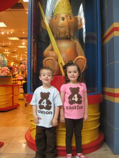 Build a Bear Birthday Party Shirt for Boy or Girl