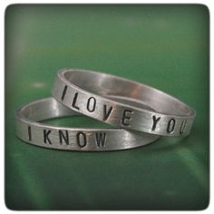If you want to show off your nerd cred, but still remain somewhat subtle, these rings are a good option.   28 Wedding Proposals Every Geek Dreams Of