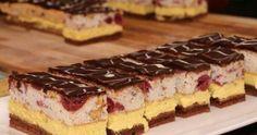 Recept: Ezt meg kell kóstolnod, fantasztikus szelet Hungarian Desserts, Hungarian Recipes, Sweet Recipes, Cake Recipes, Dessert Recipes, Torte Cake, Sweet Life, Food Videos, Cheesecake