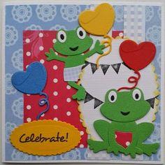 Creaties van Hetty: kikkers