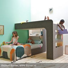 Popular Das Hochbett zum Umdrehen Meine Kinder schlafen zusammen in einem Zimmer und hatten dringenden Bedarf an