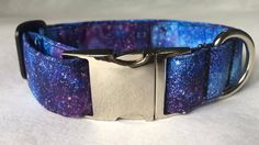 Space Cadet Dog Collar by mileyandmoscow on Etsy