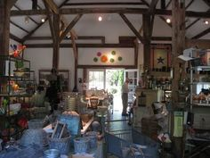 The Walpole Barn in Walpole, Maine (route 129 to Christmas Cove) is crammed with artistic, unusual, and one-of-a-kind gifts and home goods. The owners have educated eyes. You can also buy wine and oysters there.