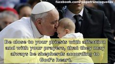 Pray for our priests. God's Heart, Pray For Us, Pope Francis, Priest, Catholic, Prayers, Faith, Gratitude, Grateful Heart