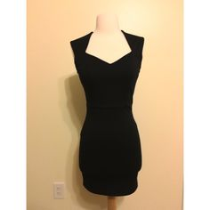 Forever 21 Black Dress In great condition. Size small. Missing a belt.  Let me know if you have any questions!  Forever 21 Dresses Mini
