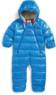 Patagonia 'Hi-Loft' Down Sweater Bunting (Baby)