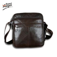 65cc2f39a0b5 Genuine leather men bags small shoulder bag crossbody leisure bag Tag a  friend who would love
