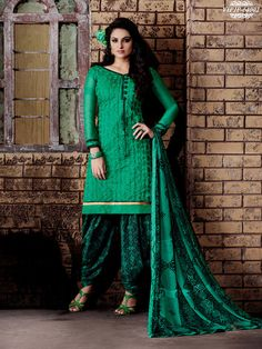 Winning Green Colour Chanderi Embroidery Unstitched Dress Material  https://www.gnoutlet.com/collections/dress-materials/products/winning-green-colour-chanderi-embroidery-unstitched-dress-material