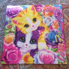Lisa Frank 2016 Calendar Perfect condition, pages are magazine paper material. Only imperfections are in the past months !! Add to bundle c: I would make it 1$ but can't :/ Lisa Frank Other