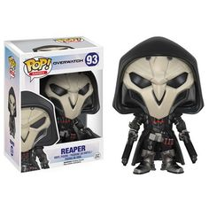 Preorder JUNE 2016 Overwatch Reaper Pop! Vinyl Figure
