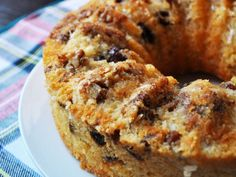 This date cake is big on vanilla flavor (and booze, so be careful when serving before noon.)\n