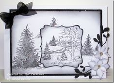 christmas scenes in black and white | Black and White Christmas Scenes