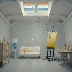 butterfly idea for kids room