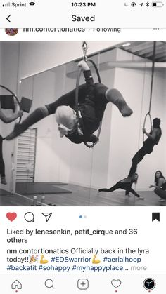 Aerial Hoop, Acro, My Happy Place, Smoothie, Passion, Dance, Workout, Fitness, Dancing