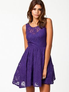 Rubber Ducky Suite Life Backless Purple Lace Dress | Lace, Cute ...