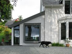 Small Projects - Rural Design Architects - Isle of Skye and the Highlands and Islands of Scotland Victoria Villa, Larch Cladding, Cottages Scotland, Long House, Bothy, Side Garden, Wooden House, Architect Design, Beach Cottages