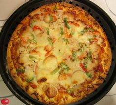 Creole Pizza Recipe