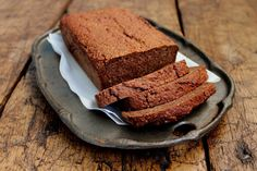 old fashioned gingerbread loaf